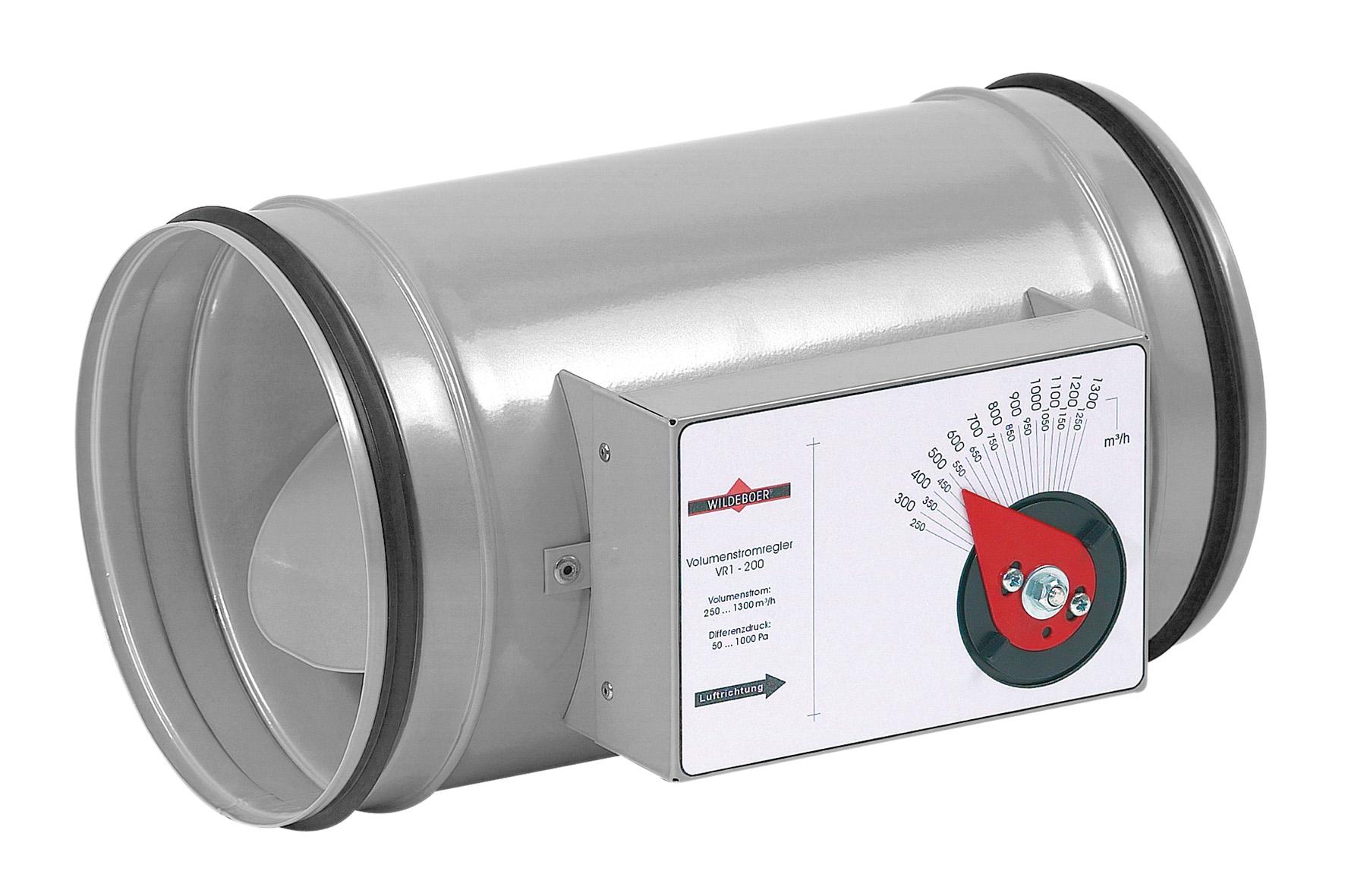 Volumenstromregler VR1