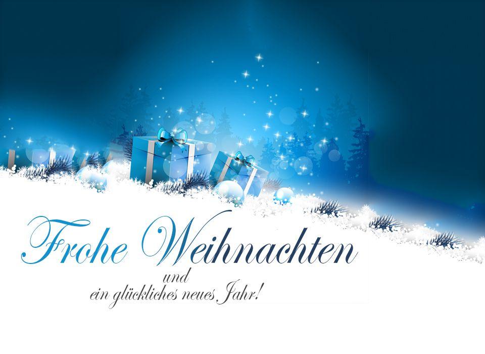 Vielen Dank und Frohe Weihnachten!