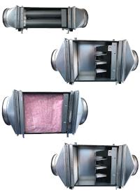 Luftkontor Filterboxen